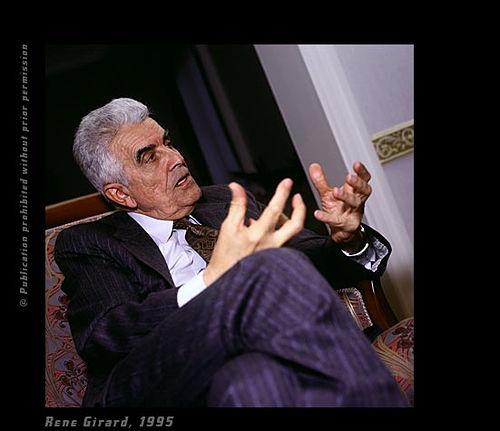 L'antropologo franco-americano René Girard